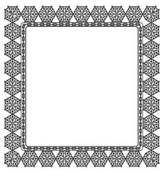 Elegant black frame vector