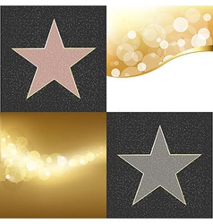 Fame stars vector