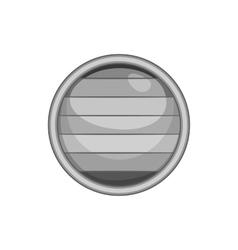 Flag of gay pride button icon vector