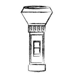 Flashlight electronic device vector