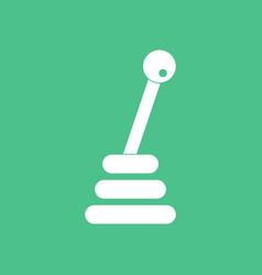 Icon gear box vector