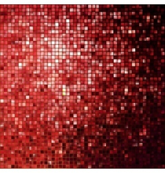 Red glitters on a soft blurred EPS 10 vector image vector image