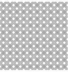 seamless gothic pattern weave diagonal stripes vector image vector image