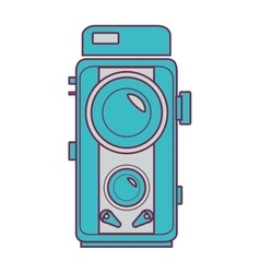 Camera video isolated icon vector