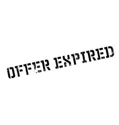 Offer expired rubber stamp vector