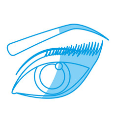 Female eye icon vector