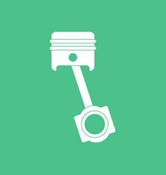 Icon car piston movement vector