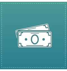 Money cash icon vector
