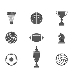 Sport Icon set vector image