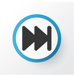 Next icon symbol premium quality isolated forward vector