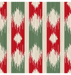 traditional ikat seamless ornament vector image