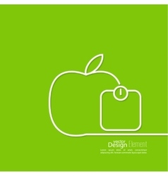 Apple with weights vector