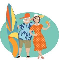 Happy Retirement vector image vector image