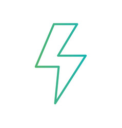 line energy hazard symbol power electric vector image vector image