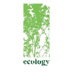 Logo of a green tree vector
