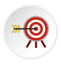 Target icon circle vector