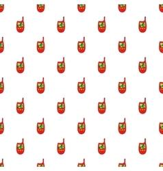 Radio pattern cartoon style vector image