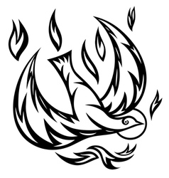 Holy spirit ornate vector