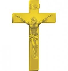 A crucifix vector