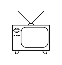tv icon Retro design graphic vector image