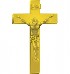 a crucifix vector image