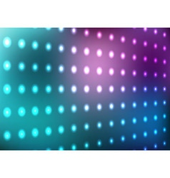 Blue and magenta light wall background vector image vector image