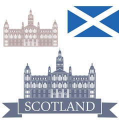 Scotland vector image