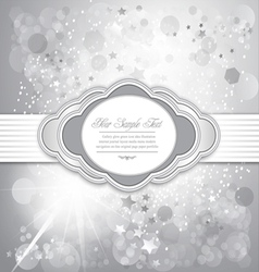 holiday greeting background vector image