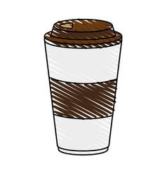 Delicious coffee cup icon imag vector