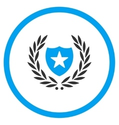 Shield Embleme Icon vector image