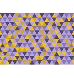Retro triangle pattern sun shower vector