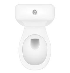 toilet bowl 04 vector image