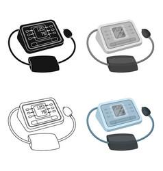 medical tonometerold age single icon in cartoon vector image