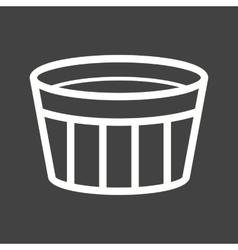 Creme Brulee vector image