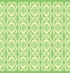 abstract green plant pattern backdrop vector image vector image