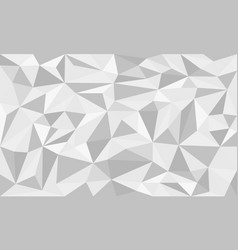 Emerald tosca low poly art background vector