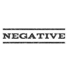 Negative watermark stamp vector