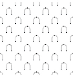 Steel arch pattern simple style vector