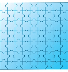 Puzzle wallpaper pattern vector