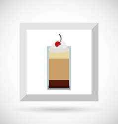 Coffee time icon design vector