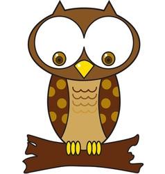 Hoot Owl vector image vector image