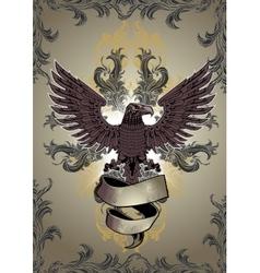 Eagle Emblem vector image vector image