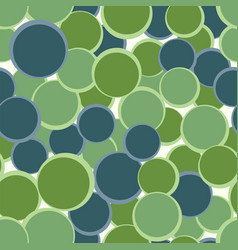 Green blue circles seamless pattern abstract vector