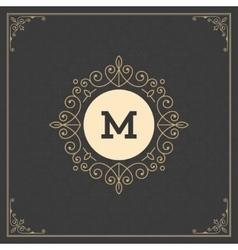 Royal logo design template decoration vector