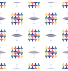 Geometric seamless pattern textile minimal design vector