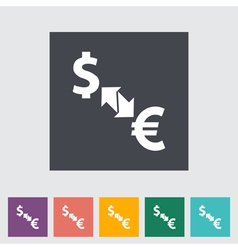 Currency exchange 2 vector