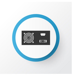 Power supply icon symbol premium quality isolated vector