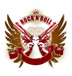 Rock n roll vector