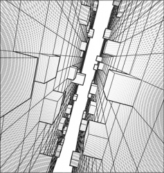 abstract geometry vector image vector image