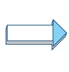arrow pointing symbol vector image